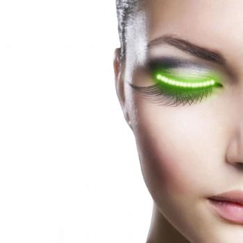 LED Luminous Eyelashes...